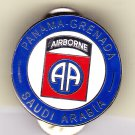 82nd Airborne Panama-Grenada-Saudi Arabia Hat Pin