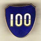 100th Infantry Division Hat Pin
