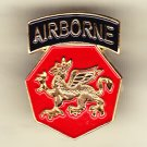 108th Airborne/Infantry Division Hat Pin