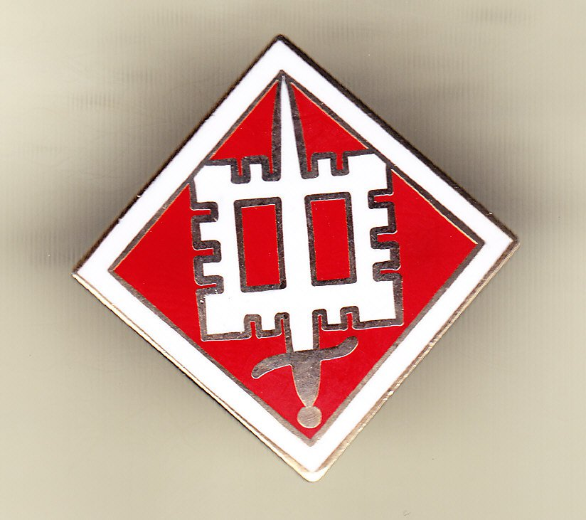 18th Engineer Brigade Hat Pin