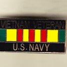 Vietnam Veteran Navy Hat Pin