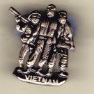 Vietnam (3 Men) Hat Pin