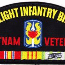 199th Light Infantry Brigade Vietnam Hat Patch Only