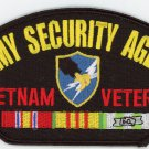Army Security Agency (ASA) Vietnam Hat Patch Only