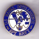 Naval Intelligence Spy Navy Hat Pin
