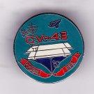 USS Coral Sea CV-43 Hat Pin