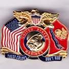 These Colors Don't Run USMC Hat Pin