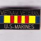 Vietnam Veteran Marine Hat Pin