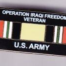 Iraq Veteran Army Hat Pin