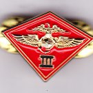 3rd Marine Air Wing Hat Pin
