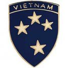 23rd Infantry Division Vietnam Hat Pin