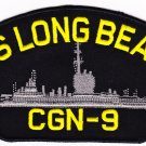 US Long Beach CGN-9 HAT PATCH ONLY
