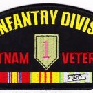 1st Infantry Division Vietnam HAT PATCH ONLY