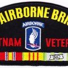 173rd Airborne Brigade Vietnam HAT PATCH ONLY