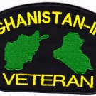 Afghanistan-Iraq Veteran HAT PATCH ONLY