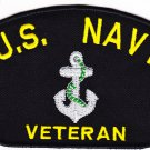 US Navy Veteran HAT PATCH ONLY