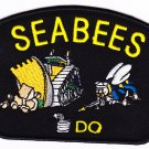 SEABEES  HAT PATCH ONLY
