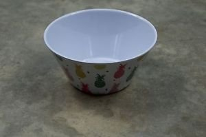Ankit White Multi Pineapple Bowls