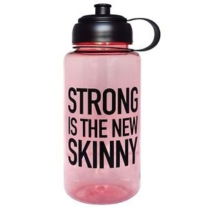 Ankit Strong Is The New Skinny Sports Water Bottle Gym and Tonic BPA Free(35 oz)
