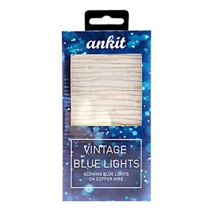 Ankit Vintage Blue Lights Led Indoor Firefly Lights Christmas Lights Party