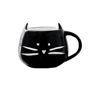 Ankit Black Kitty Coffee Mug Funny Novelty Fun With Sayings Quote Gifts  (15 Oz)