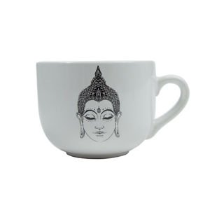 Ankit Buddha Round Coffee Mug Funny Novelty Fun With Sayings Quote Gifts