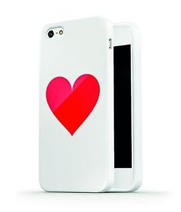 Ankit Heart Case iPhone 5/5S with Anti Shock Absorption, 4 inch