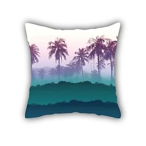 "Ankit Palm Couch Throw Pillow,Decorative Pillows Throw Pillows  (18""x 18"")"