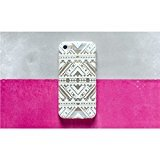 Ankit Clear/White Tribal iPhone 5C,Super Cute Girls Protective Beautiful Kitty Design Case