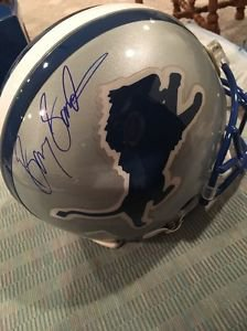 Detroit Lions On Field Riddell Authentic Helmet
