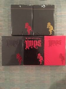 Rare Whispering Imps Playing Cards