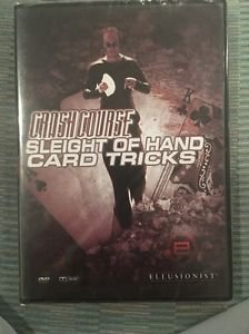 Ellusionist Crash Course Sleight Of Hand Card Tricks Dvd