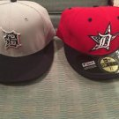 Detroit Tigers 4th Of July Caps Size 7 1/4 Okd Deal Both Hats Come In The Sale