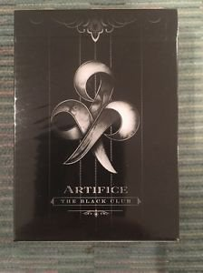 Ellusionist Black Artifice Playing Cards