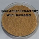 100% DEER ANTLER VELVET 10:1 EXTRACT POWDER ***1,200 SERVINGS**** POTENT organic