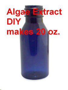 PURE ALGAE EXTRACT nourishes skin hair + wrinkle prevention MAKES 20 OZ. DIY mm