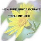 100% Arnica Extract ORGANIC  16 oz. bruises pain inflammation bruises swelling