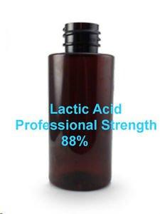 BULK Lactic Acid 88% PROFESSIONAL STRENGTH wrinkles lightening acne 34oz 1 liter