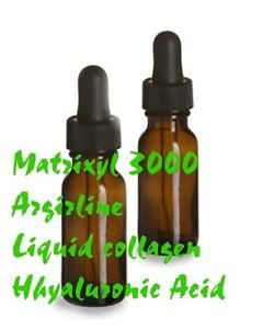 1X Liquid Collagen Argireline Matrixyl 3000 Hyaluronic INTENSE SERUM therapy 1oz