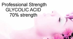 BULK Wholesale GLYCOLIC ACID Bulk 70% Pro Strength Acne age spots Wrinkles