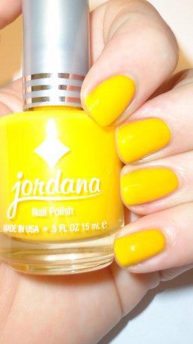 Jordana Mellow Yellow Nail Polish