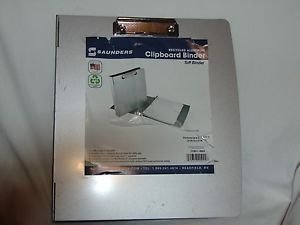 Saunders Recycled Aluminum Ring Binder, Fits 8.5 x 11 Forms Ready to Ship