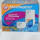 Mentadent Advanced Whitening Refreshing Mint Toothpaste, 10.5 oz Arm & Hammer