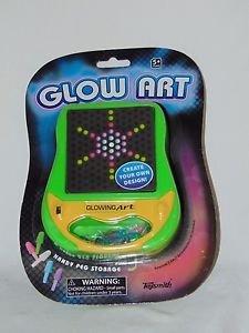 Glow Art Creative Artist Toy Color Pegs Mini Lite-Brite