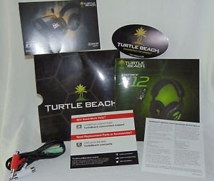 TURTLE BEACH EAR FORCE X12 Stereo Audio Splitter Cable + Instruction Phamplet