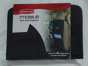 Rubbermaid Back Seat Organizer 332520  Single Unit, Generic Ready to Ship Black