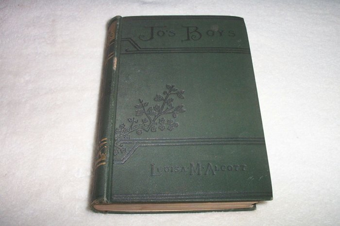 1908 Jo's Boys by Louisa M. Alcott