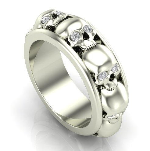 Skull Wedding Ring