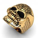 Men's 10 kt  Skull Ring