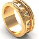 Wedding Ring in Tech Design 14 k